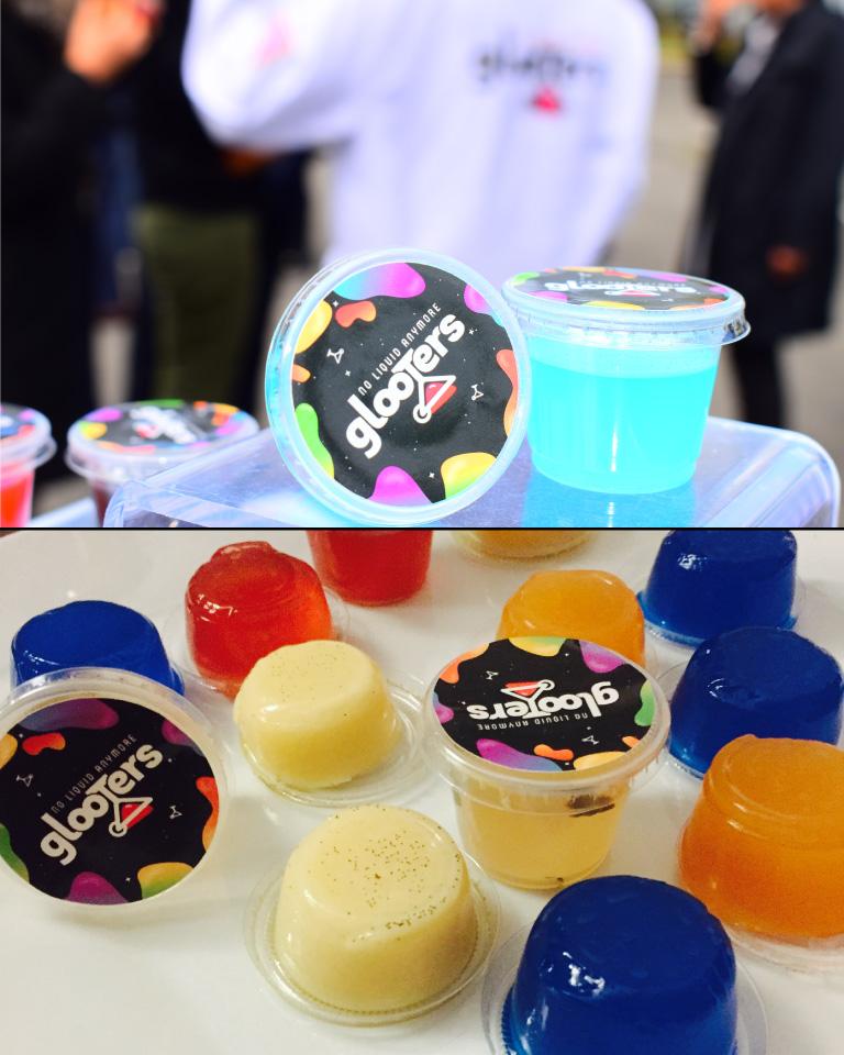 cocktails originaux couleur colorés multicolores glooters