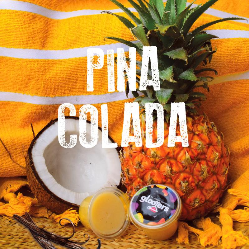 glooters cocktail à manger original pina colada