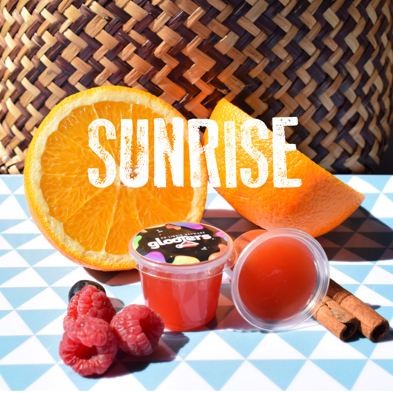 glooters cocktail sunrise