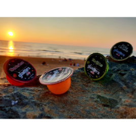 Pack de 12 : Mojito, Sex on the Beach, Pina Colada, Sunrise